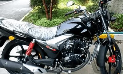 豪爵骊爽125-20跨骑摩托车视频